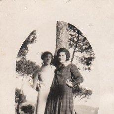 Fotografía antigua: DOS CHICAS. Lote 26746966