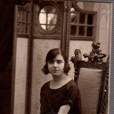 Fotografía antigua: FOTOGRAFIA DEL FOTOGRAFO DE BARCELONA ALONSO SALON SAN JUAN 133. Lote 26791342