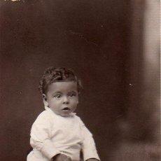 Fotografía antigua: FOTOGRAFIA POSTAL DEL FOTOGRAFO DE BARCELONA MIREYA J,VALLES RONDA SAN PABLO, 46. Lote 26791550