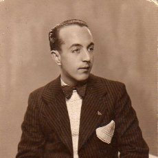Fotografía antigua: FOTOGRAFIA POSTAL DEL FOTOGRAFO DE BARCELONA ANGEL LOPEZ RONDA SAN PABLO 61. Lote 26792945