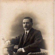 Fotografía antigua: FOTO- POSTAL DEL FOTOGRAFO DE BARCELONA MARINE CALLE PELAYO, 58. Lote 26937814