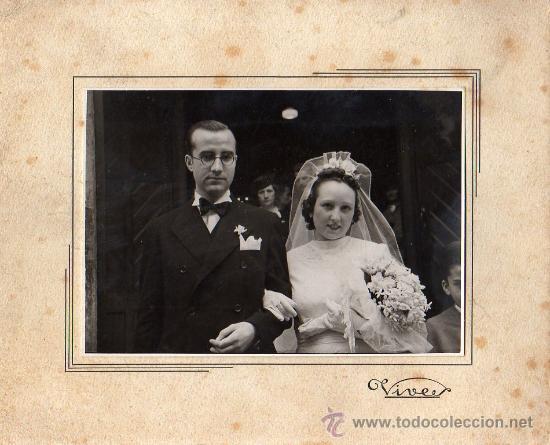 FOTOGRAFIA DEL FOTOGRAFO DE BARCELONA VIVES 1941 DE RONDA SAN ANTONIO (Fotografía Antigua - Fotomecánica)