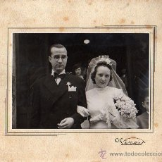 Fotografía antigua: FOTOGRAFIA DEL FOTOGRAFO DE BARCELONA VIVES 1941 DE RONDA SAN ANTONIO. Lote 26953796