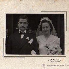 Fotografía antigua: FOTOGRAFIA DEL FOTOGRAFO DE BARCELONA VIVES 1941 DE RONDA SAN ANTONIO. Lote 26953804