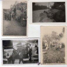 Fotografía antigua: FOTOS DE SOLDADOS NAZIS ORIGINALES III REICH HITLER CAMIONES. Lote 27676189