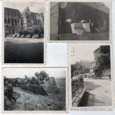 Fotografía antigua: FOTOS DE SOLDADOS NAZIS ORIGINALES III REICH HITLER CAMIONES. Lote 27676280