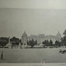 Fotografía antigua: 173 ARANJUEZ Y ESCORIAL - PRECIOSA LAMINA FOTOGRAFICA AÑOS 1890/1900 MEDIDAS 32 X 24 CM - OCASION. Lote 27772022