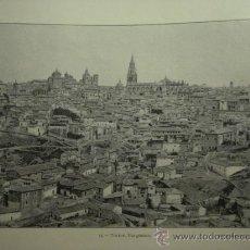 Fotografía antigua: 175 TOLEDO - PRECIOSA LAMINA FOTOGRAFICA AÑOS 1890/1900 MEDIDAS 32 X 24 CM - OCASION. Lote 27772024