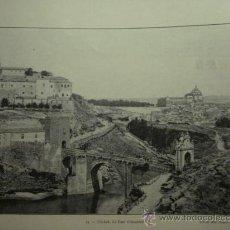 Fotografía antigua: 177 TOLEDO - PRECIOSA LAMINA FOTOGRAFICA AÑOS 1890/1900 MEDIDAS 32 X 24 CM - OCASION. Lote 27772029