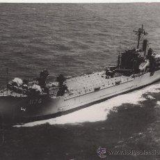 Fotografía antigua: FOTOGRAFIA BARCO. USS GRAHAM COUNTY. Lote 27896384