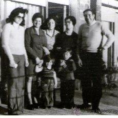 Fotografía antigua: FOTOGRAFIA FAMILIAR - FOTO FAMILIAR. Lote 27900423