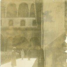Fotografía antigua: GRANADA. PATIO DE LOS ARRAYANES. HACIA 1920.. Lote 28150340