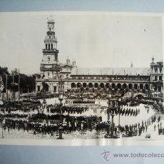 Fotografía antigua: 10-8-1932-GENERAL SANJURJO.SEVILLA.INTENTO RESTAURACIÓN MONARQUÍA. SEGUNDA REPÚBLICA. FOTO ORIGINAL.. Lote 28378245