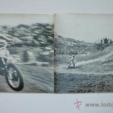 Fotografía antigua: BULTACO EN COMPETICIÓN. 2 FOTOS 24 X 18 CTMS. AÑOS 1970. ORIGINALES DE SU ÉPOCA. Lote 28736318