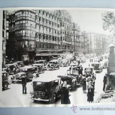Fotografía antigua: 1937- GUERRA CIVIL ESPAÑA. BILBAO. FOTO ORIGINAL. GRANDE 23X18 CM. Lote 28858278