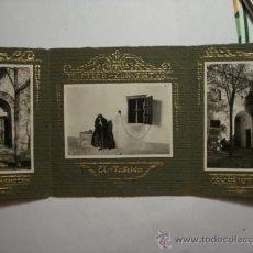 Fotografía antigua: 170 ZAMORA - RARO TRIPTICO FOTOGRAFICO - CONVENTO - COSTUMBRISTA AÑO 1927. Lote 202725246