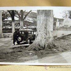 Fotografía antigua: ANTIGUA FOTO, FOTOGRAFIA, ALBACETE, CAUDETE, FUENTE CHICA DE 1911, MEDIDAS: 8.5X6 CM. Lote 29673834