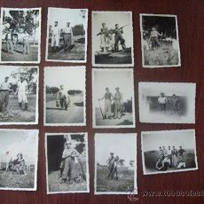 Fotografía antigua - 12 FOTOS - HOMBRES DE CACERIA - CAZA - LES HOMMES DE LA CHASSE - MEN OF HUNTING - 29793030