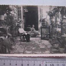 Fotografía antigua: FOTOGRAFIA DESCONOCIDA , PINTOR?. Lote 30144680