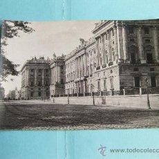 Fotografía antigua: FOTOGRAFIA IMPRESA HAUSER Y MENET 1894 - 454 MADRID - PALACIO REAL - FACHADA PRINCIPAL 1. Lote 30161921