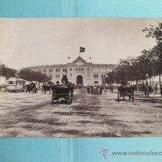 Fotografía antigua: FOTOGRAFIA IMPRESA HAUSER Y MENET 1896 - 309 MADRID - PLAZA DE TOROS. Lote 30162450