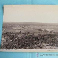 Fotografía antigua: FOTOGRAFIA IMPRESA HAUSER Y MENET 1894 - 132 - ARANJUEZ - VISTA GENERAL. Lote 30163670