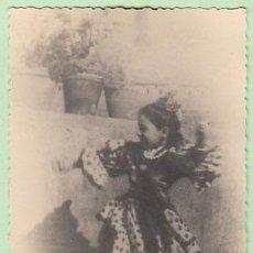 Fotografía antigua: NIÑA BAILAORA.... Lote 30362385