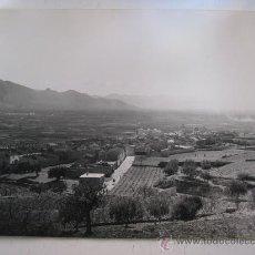 Fotografía antigua: ANTIGUA FOTOGRAFIA - LLOSA DE RANES, VALENCIA - VISTA GENERAL - AÑOS 1940-50. Lote 30615827