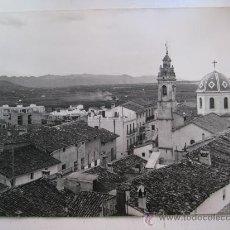 Fotografía antigua: ANTIGUA FOTOGRAFIA - LLOSA DE RANES, VALENCIA - VISTA PARCIAL - AÑOS 1940-50. Lote 114472198