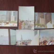 Fotografía antigua: NEW YORK TRIP TO THE STATUE OF LIBERTY. VIAJE A LA ESTATUA DE LA LIBERTAD 1976 - 6 PHOTOS. Lote 30672035