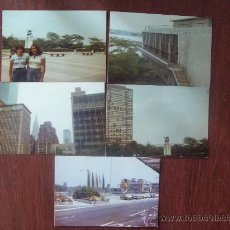 Fotografía antigua: NACIONES UNIDAS, NUEVA YORK. UNITED NATIONS, NEW YORK, NATIONS UNIES, 1976 5 PHOTOS. Lote 30672103