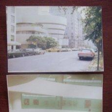 Fotografía antigua: MUSEO GUGGENHEIM NEX YORK, 1976, 2 PHOTOS. Lote 30672119