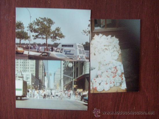 3 PHOTOS NEW YORK, 1976 (Fotografía Antigua - Fotomecánica)