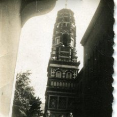 Fotografía antigua: BARCELONA - PUEBLO ESPAÑOL - AÑOS 40 4,5 X 6,5 CM. . Lote 30926468