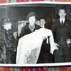 Fotografía antigua: 1939-BAUTIZO INFANTA MARGARITA.JUAN BORBÓN.INFANTE JAIME.ROMA.ITALIA. FOTO ORIGINAL.22X17 CM. Lote 31034790