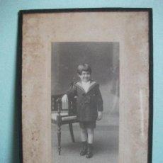 Fotografía antigua: FOTOGRAFÍA DE VIDAL H? FONSECA.. Lote 31207554