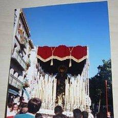 Fotografía antigua: SEMANA SANTA DE SEVILLA. FOTOGRAFIA DE LA VIRGEN DE LOS DOLORES. EL CERRO. Lote 31476066