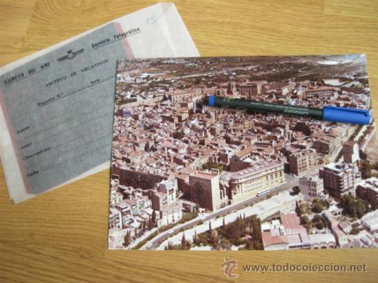 FOTOGRAFIA DE TARRAGONA EN COLOR Y NEGATIVO - SERVICIO FOTOGRAFICO DEL EJERCITO DEL AIRE - AÑOS 70 (Fotografía Antigua - Fotomecánica)