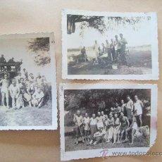 Fotografía antigua: BODEGA EN TOLEDO, CANELONES, URUGUAY - 1947 - 3 PHOTOS. Lote 31815016