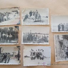 Fotografía antigua: SALINAS, CANELONES, URUGUAY 1948 - 8 PHOTOS. Lote 31815027
