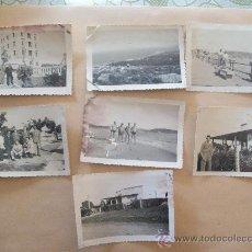 Fotografía antigua: PIRIAPOLIS, URUGUAY, 1948 - 7 PHOTOS. Lote 31815030
