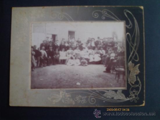 FOTOGRAFIA DE FAMILIA 1900 (Fotografía Antigua - Fotomecánica)