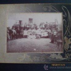 Fotografía antigua: FOTOGRAFIA DE FAMILIA 1900. Lote 31823964