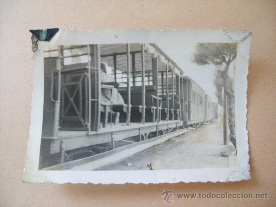 EL TRENCITO DE PIRIA. PIRIAPOLIS URUGUAY, 1950 (Fotografía Antigua - Fotomecánica)