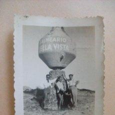 Fotografía antigua: BALNEARIO BELLA VISTA, URUGUAY 1950. Lote 31827182