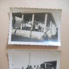 Fotografía antigua: LA COLINA, BALNEARIO PIRIAPOLIS URUGUAY. 2 PHOTOS 1950. Lote 31827244