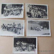 Fotografía antigua: LA FLORESTA, CANELONES URUGUAY 1949 - 5 PHOTOS. Lote 31827250