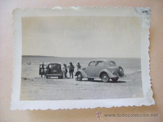 Fotografía antigua: PUNTA FRIA, BALNEARIO PIRIAPOLIS, MALDONADO URUGUAY 1950 - 5 PHOTOS - Foto 2 - 31827302