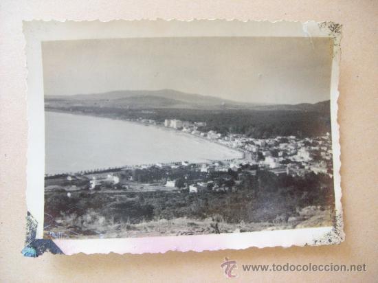 Fotografía antigua: BALNEARIO PIRIAPOLIS, CERRO SAN ANTONIO, URUGUAY 1950 - 4 PHOTOS - Foto 2 - 31827314