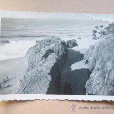 Fotografía antigua: PORTEZUELO, PUNTA BALLENA, MALDONADO URUGUAY, CIRCA 1950. Lote 31855875